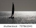 sailing away | Shutterstock . vector #737861041