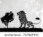 Lion Lettering