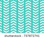 blue chevron pattern  3d arrow...