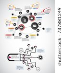 infographic concept | Shutterstock .eps vector #737881249