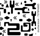 unique geometric vector...   Shutterstock .eps vector #737896885