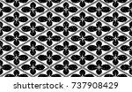 seamless black and white grunge ...   Shutterstock .eps vector #737908429