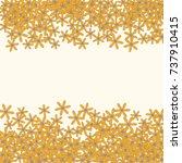 vector confetti background...   Shutterstock .eps vector #737910415