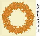 vector confetti background...   Shutterstock .eps vector #737910499
