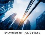 perspective view of... | Shutterstock . vector #737914651