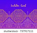 islamic style pattern for...   Shutterstock .eps vector #737917111