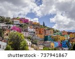 view of the colorful city of... | Shutterstock . vector #737941867