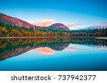 Fall Reflections At Echo Lake...