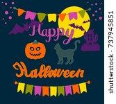 Colorful Happy Halloween...
