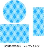 snow crystal frame set | Shutterstock .eps vector #737975179