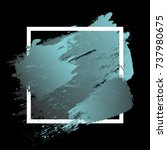 gradient vibrant blue grey... | Shutterstock .eps vector #737980675