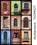 Windows Of Venice  Italy....