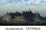 Medieval Castle On A Rocky...