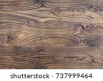 the texture of mahogany. old... | Shutterstock . vector #737999464