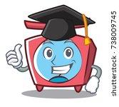 graduation scale character... | Shutterstock .eps vector #738009745
