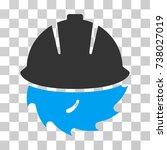 circular blade safety icon....   Shutterstock .eps vector #738027019