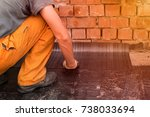 professional master   making... | Shutterstock . vector #738033694