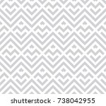 abstract geometric pattern with ... | Shutterstock .eps vector #738042955