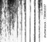 abstract grunge grid polka dot...   Shutterstock .eps vector #738081037