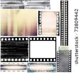 design elements set  film... | Shutterstock . vector #73809442