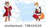 Christmas Banner With The...
