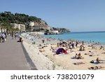 nice  france   september 14 ... | Shutterstock . vector #738201079