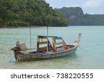 krabi thailand 15 aug 2016.... | Shutterstock . vector #738220555