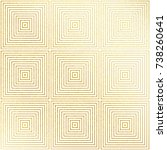 vector geometric gold...   Shutterstock .eps vector #738260641