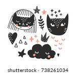 vector illustration.... | Shutterstock .eps vector #738261034