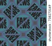 conceptual seamless pattern...   Shutterstock .eps vector #738273169