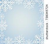 winter background | Shutterstock .eps vector #738345724