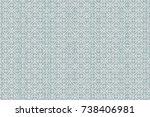 modern pattern wallpaper    Shutterstock . vector #738406981