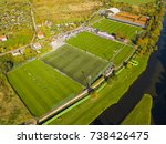 Aerial View Of Football...