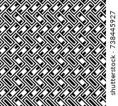 herringbone pattern. rectangles ... | Shutterstock .eps vector #738445927