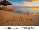 """foreground written in the sand """"... 