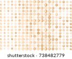 brown abstract background with... | Shutterstock .eps vector #738482779