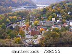 Harpers Ferry At Autumn Day ...