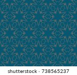 abstract repeat backdrop.... | Shutterstock . vector #738565237