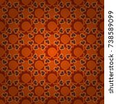home decor. seamless pattern... | Shutterstock .eps vector #738589099