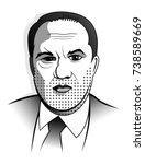 harvey weinstein miramax ind... | Shutterstock .eps vector #738589669