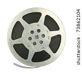 16mm vintage motion picture... | Shutterstock . vector #73862104