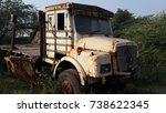 A Damaged Transportation Ruste...