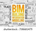 bim   building information... | Shutterstock . vector #738681475