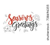 Season S Greetings Handwriting...