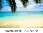 seascape vacation sunshine | Shutterstock . vector #73870372