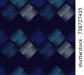 seamless geometric pattern.... | Shutterstock .eps vector #738727435