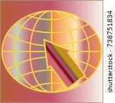 new colorful gradient www globe ...