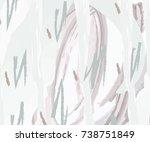 elegant abstract background in... | Shutterstock .eps vector #738751849