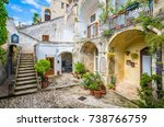 """Small photo of Scenic sight in Matera in the """"Sassi"""" district, Basilicata, southern Italy."""