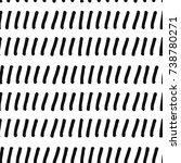 monochrome seamless pattern.... | Shutterstock . vector #738780271